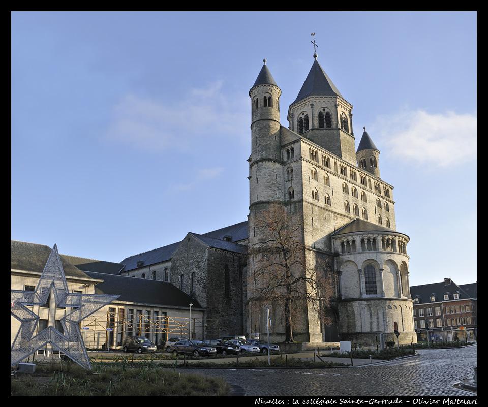Nivelles : la collégiale Sainte Gertrude