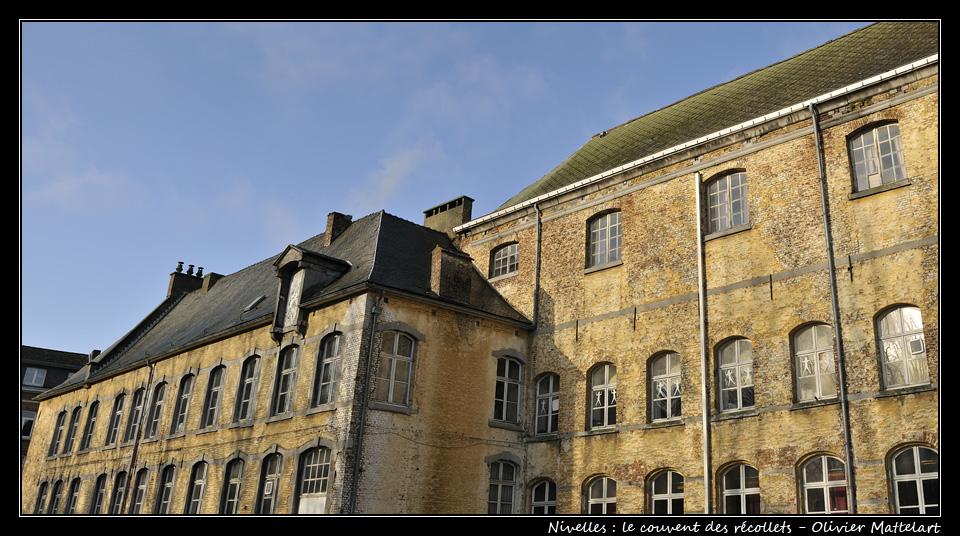 Nivelles : le couvent des récollets