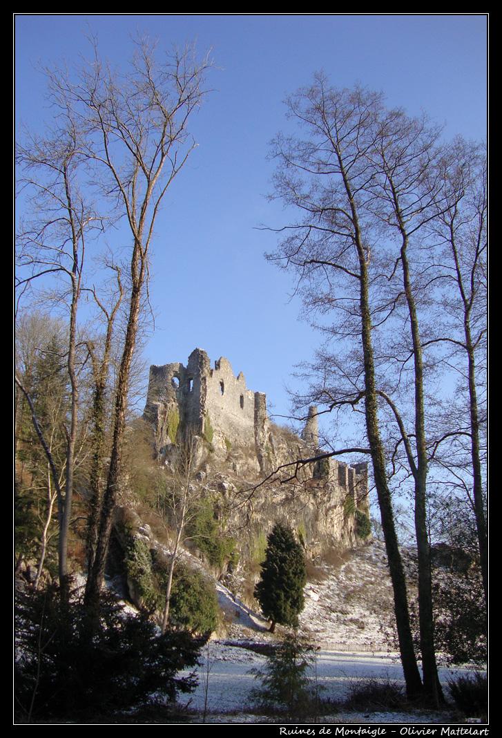 Ruines de Montaigle