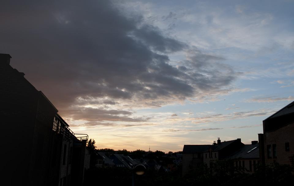 Louvain-la-neuve : ciel du 16 juin 2013